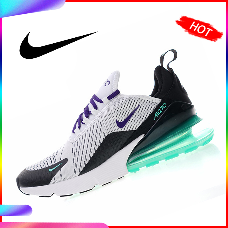 US $60.0 40% OFF|NIKE Air Max 270 Women's Running Shoes Sport Outdoor Breathable Sneakers Athletic Designer Footwear 2018 New Arrival AH6789 103 in
