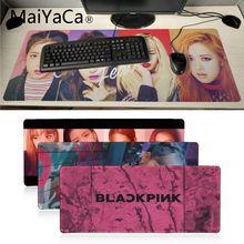 MaiYaCa Black pink kpop DIY Design Pattern Game mousepad Gaming Mouse Pad Large Deak Mat 700x300mm for overwatch/cs go