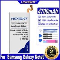 HSABAT EB-BN965ABU 4700mAh batería para Samsung Galaxy Note9 Nota 9 N960U SM-N9600 SM-N960F N9600 SM-N965F