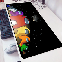 Among Us DIY Design Pattern Gaming Mousepad Computer Padmouse for LoL Csgo 900x400mm Large Mouse Pad Keyboards Mat Christmas