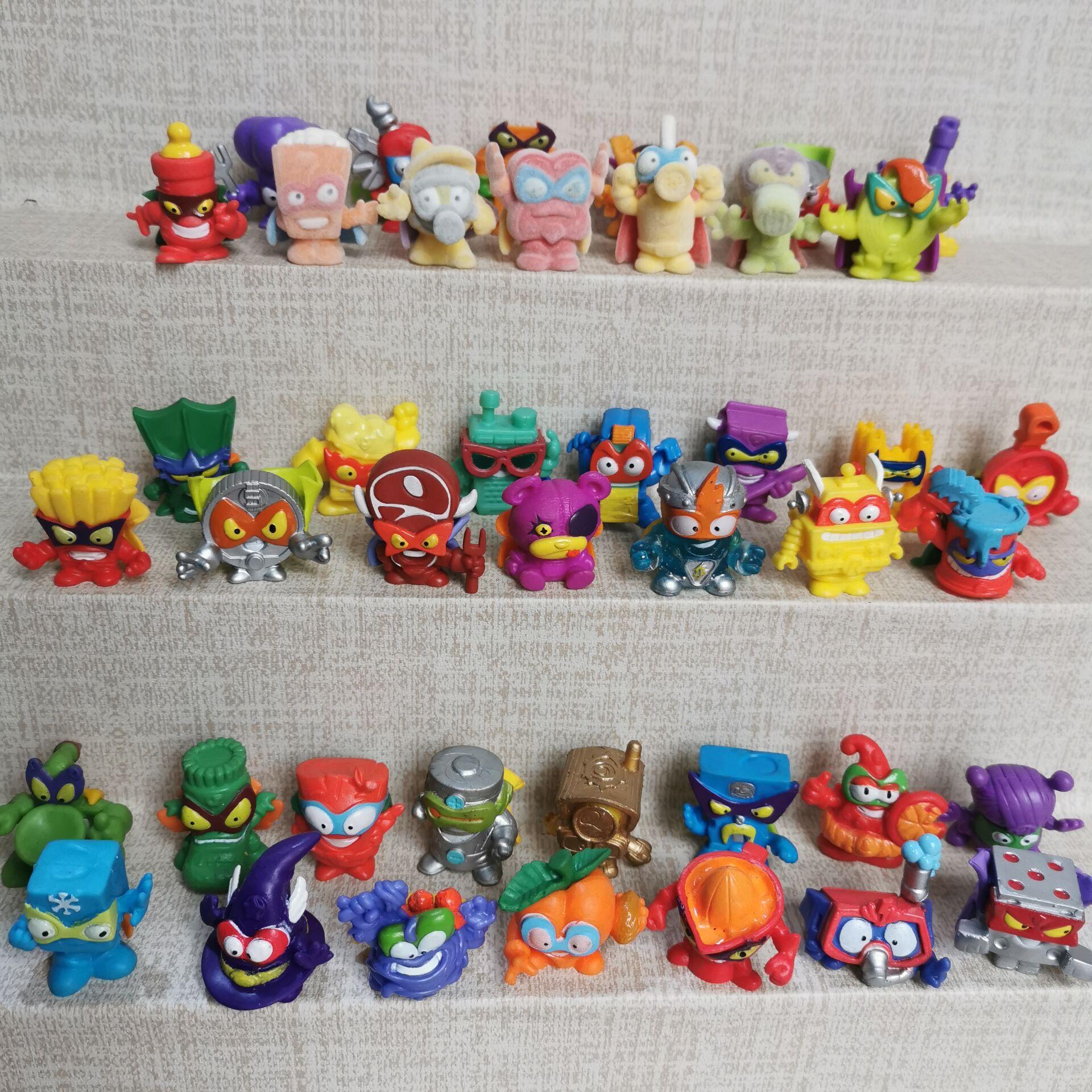 Оригинальный 15 шт. Superzings Superthings фигурки 3 см супер Zings мусора коллекция модели игрушки с дистанционным управлением для детей подарок