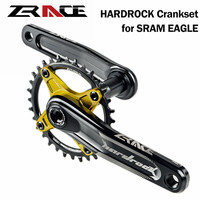 ZRACE Updated HARDROCK 1 x 10 11 12 Speed Bike Crankset for MTB 170mm / 175mm Bicycle Crank Chainset for SRAM EAGLE