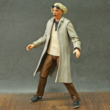 Action-Figure Marty Mcfly Neca Back-To-The-Future-Ii 35th Biff 1955 Doc Brown Anniversary