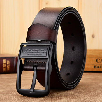 [DWTS]men belt male high quality leather belt men male genuine leather strap luxury pin buckle fancy vintage jeans free shipping 14