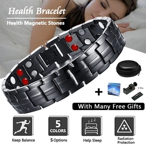 Men's Black Healing Magnetic B