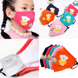 Kid Cartoon Cute mask N95 Anti Dust Face Mouth Reusable Breathable Cotton Protective pollution PM2.5 Anti-Dust Mouth Face kids 5
