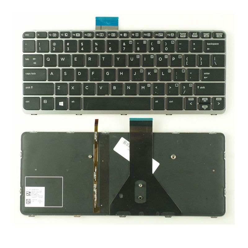GZEELE New For HP EliteBook FOLIO 1020 G1 1030 G1 US KEYBOARD BACKLIT