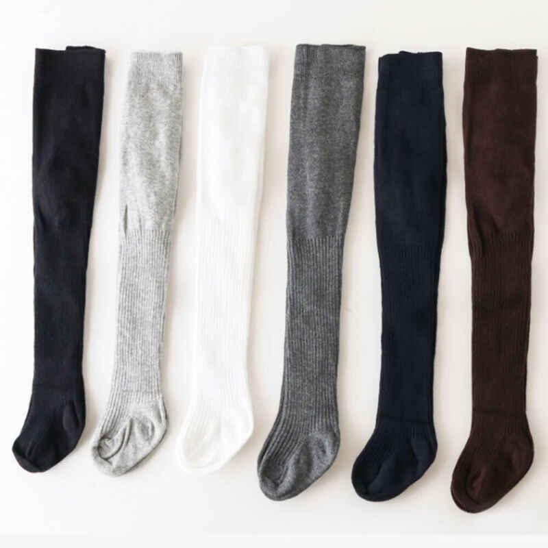 2020 Terbaru Hot Balita untuk Anak Laki-laki dan Perempuan Kapas Hangat Celana Terbuka Selangkangan Celana Ketat Padat Tebal Lembut Musim Dingin Solid Pantyhouse