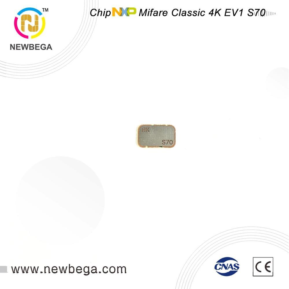 1000PCS Genuine NXP  Classic 4K EV1 S70 RFID Chip 13.56MHz Original Chip DHL Free Shipping