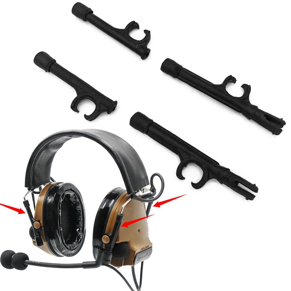 Peltor Comtac III Headset Tático acessório suporte para comtac iii suporte adaptador de fone de ouvido do capacete