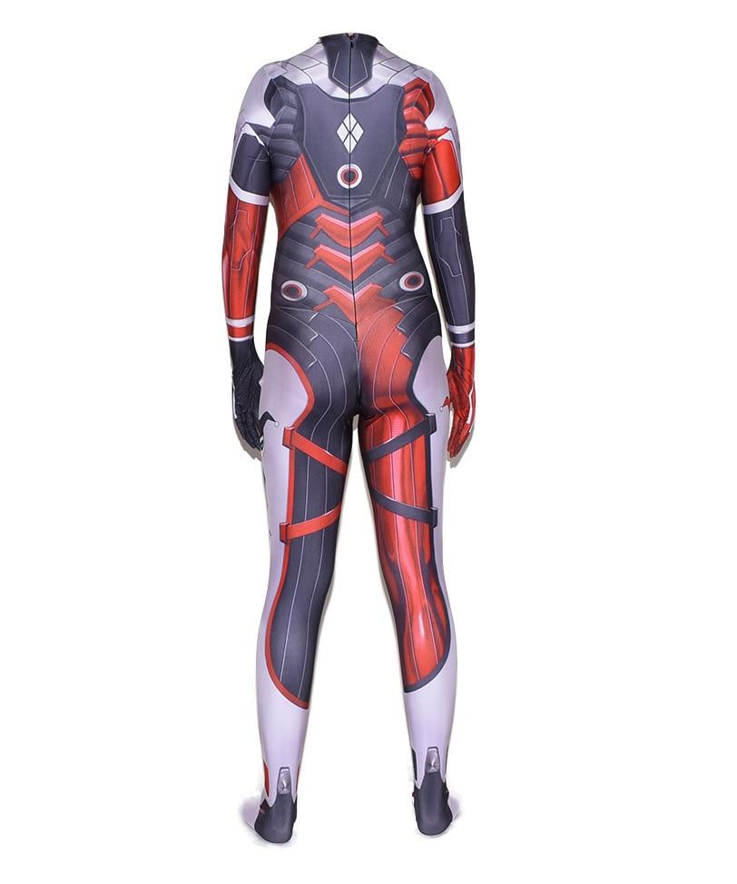 New 52 Superhero Cosplay Costumes Zentai Suit d.va Halloween Bodysuit Adults Kids 2