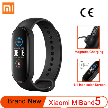 xiaomi mi band 3 miband 3 smart wristband with 0 78 oled touch screen waterproof heart rate fitness tracker smart bracelet Xiaomi Mi Band 5 Original Smart Bracelet AMOLED Screen Miband 5 Smart band Fitness Tracker Bluetooth Sport Waterproof Smart Band