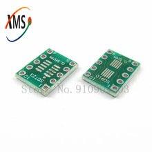 10 pces sot23 msop10 umax para dip10 placa de transferência pcb dip pino placa passo adaptador