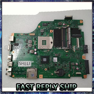 Шели для Dell V1540 1540 Материнская плата ноутбука 48.4IP01.011 RMRWP 0RMRWP CN-0RMRWP N5040 HM57 DV15 ноутбук ПК материнская плата Тест ОК