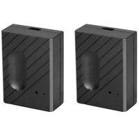 Tüketici Elektroniği'ten Akıllı Uzaktan Kumanda'de BESTfor Ewelink WiFi anahtarı garaj kapısı denetleyicisi için araba garaj kapısı açacağı APP uzaktan kumanda zamanlama ses kontrolü (2 adet)
