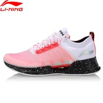 (Break Code)Li-Ning Women CLOUD COOL Cushion Running Shoes Mono Yarn PROBAR LOC LiNing CLOUD Sport Shoes Sneakers ARHP052 2