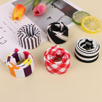 1 Pcs Leopard Print Hair Bun Maker Donut Styling Hair Fold Wrap Snap Accessories for Children Curler Roller Quick Dish Headbands