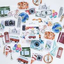 40 шт./компл. коллекция наклейки памятки наклейки для дневника пакет разместил его Kawaii планировщик для скрапбукинга канцелярские Эсколар школьные принадлежности