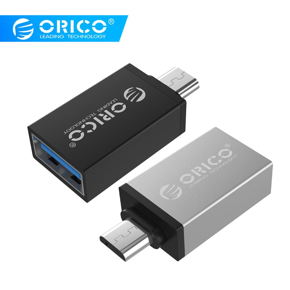 ORICO OTG Micro B Adapter USB3.0 To Micro B OTG Converter Charging Data Sync For Phone Tablet