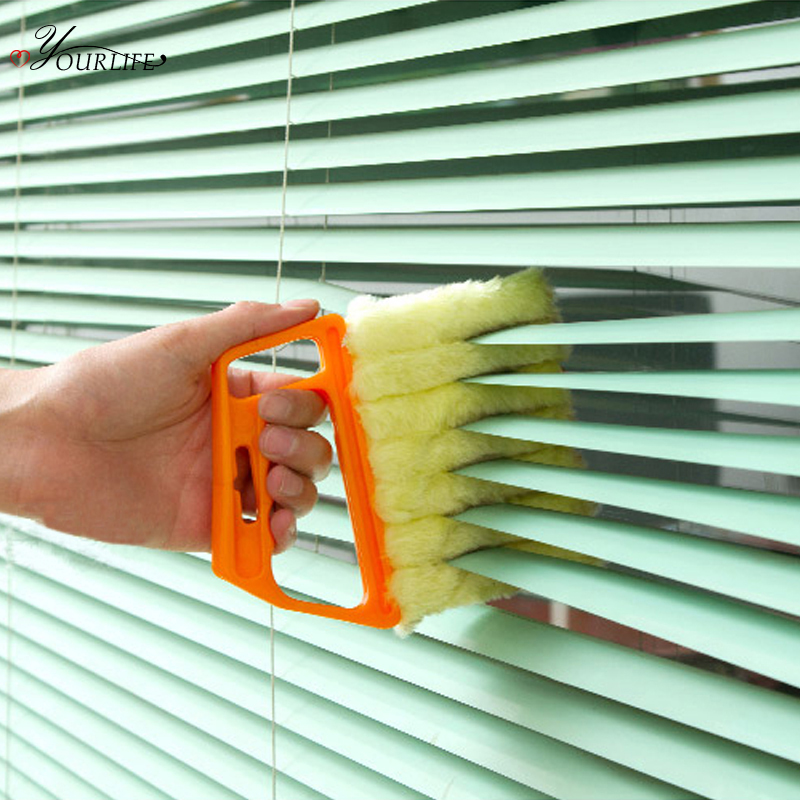 OYOURLIFE Professional Window Cleaning Brush Venetian Blind Brushes Air Conditioner Duster Window Cleaner Home Cleaning Tools