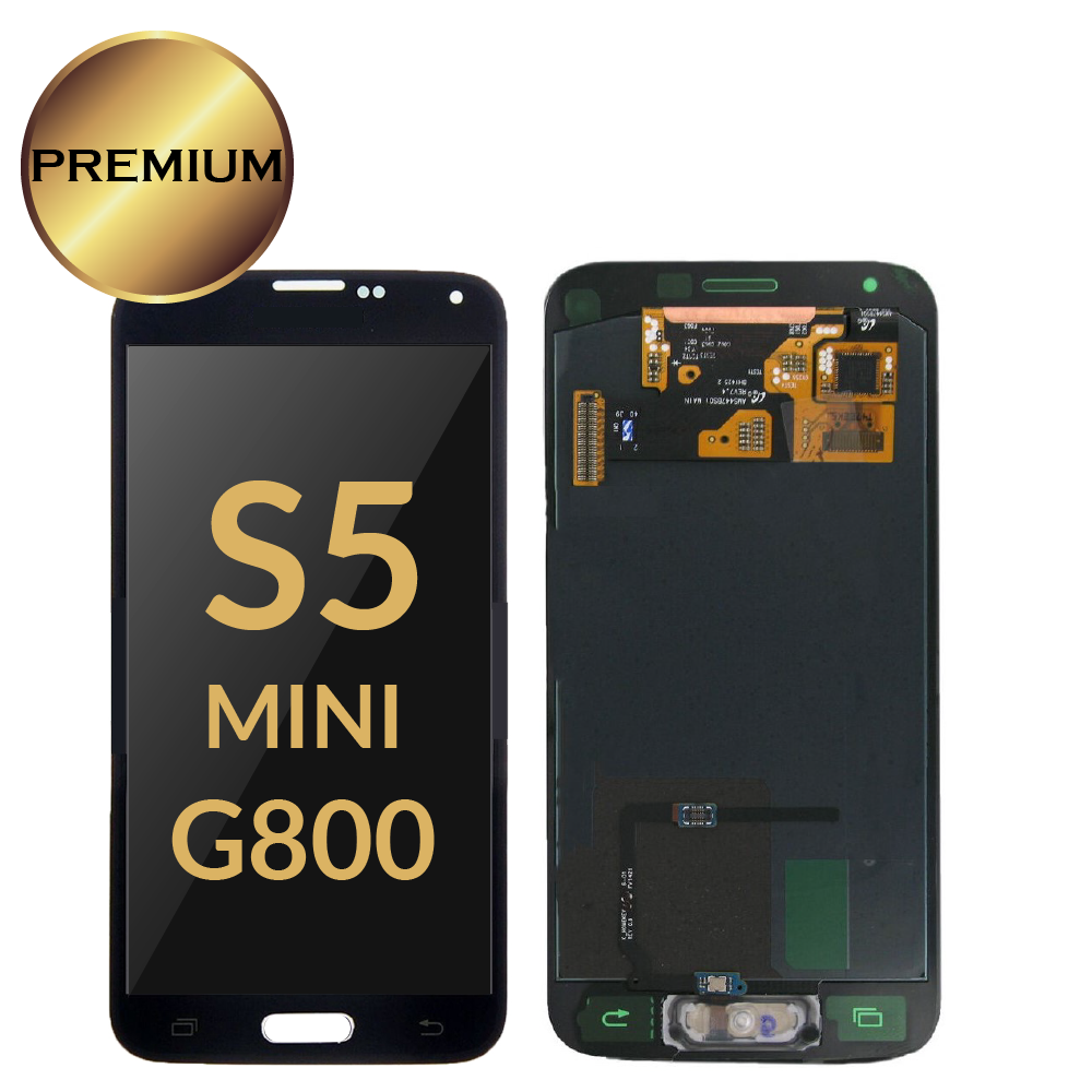 Super AMOLED LCD For <font><b>Samsung</b></font> Galaxy S5 Mini G800 <font><b>G800F</b></font> G800H LCDs <font><b>Display</b></font> Screen Touch Digitizer Assembly s5 mini pantalla image