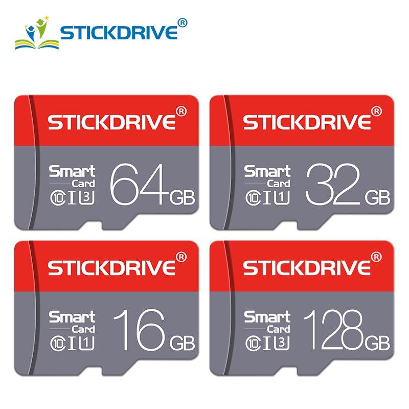 Карта памяти Micro SD, класс 10, 16 ГБ, 32 ГБ, 64 ГБ, 128 ГБ