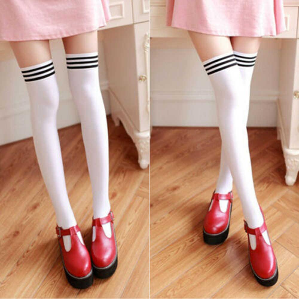 Neue Mode Frauen Strümpfe Winter Warm Dicken Thight Hohe Über die Knie Socken Lange Baumwolle Strümpfe großhandel drop shiping