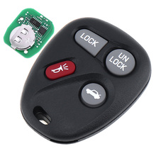 4 Buttons 315 MHZ Portable Keyless Entry Remote Key Fob ABO1502T  for 2002-2004 Chevrolet