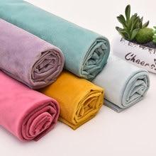 Tecido de estofos de veludo holandês grosso sofá cortinas pano diy têxtil para casa por meio metro