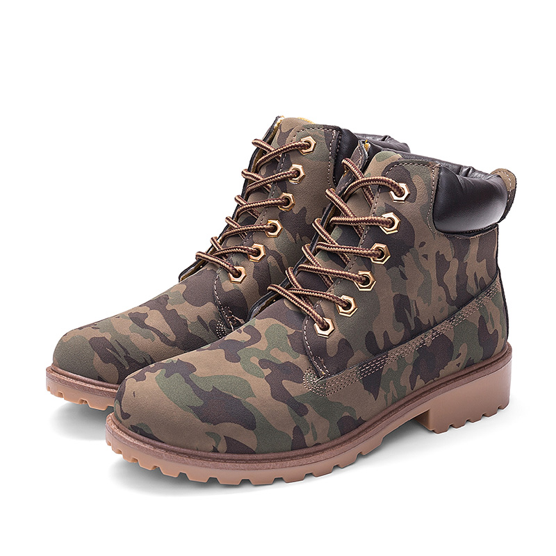 Mens Winter Boots For Martin Boots Men Motorcycle Boots Black Winter Shoes Men Snow Boots Camouf Lover Booties Plus Size 46 45