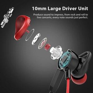 Image 5 - Langsdom Gaming auricolare In Ear 3.5mm cuffie cablate per PS4 PUBG Gamer cuffie auricolari Hi Fi con doppio microfono staccabile