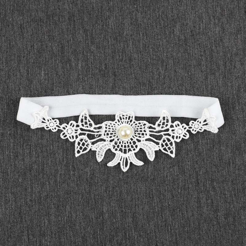 Wedding Garters Lace Embroidery Floral Sexy Garters For Women/Bride Thigh Ring Bridal Leg Garter