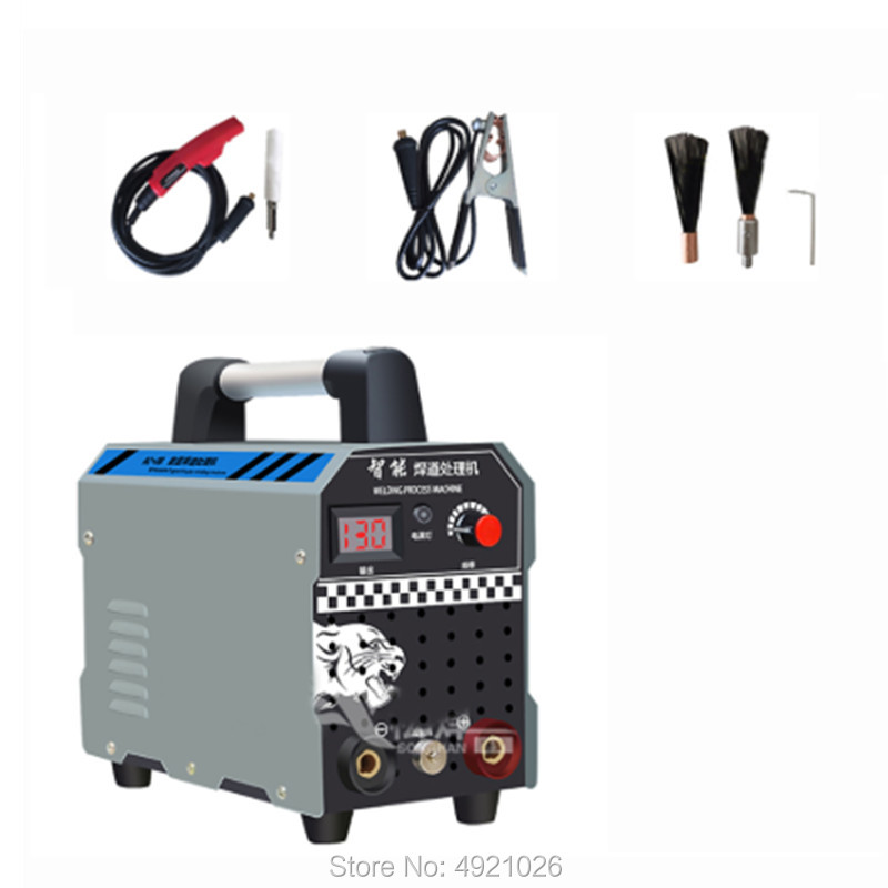 220V Stainless Steel Weld Bead Processor Argon Arc Welding Spot Weld Cleaning Machine Electrolytic Polishing Machine