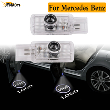 2pcs for Mercedes benz led door lights for amg logo projector light emblem ghost shadow welcome lamp for benz R class W164 W215 high quality chrome tail light cover for mercedes benz w164 ml class free shipping