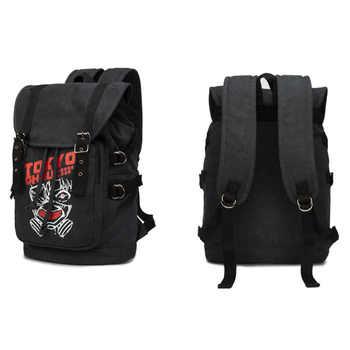 Attack on Titan Shingeki no Kyojin One Piece Naruto Backpack Large Shoulder Bag Rucksack Canvas Backpacks Mochila Daypacks