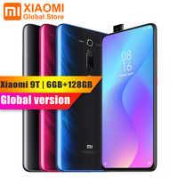 Popular versión Global Xiaomi mi 9 T mi 9 T 6GB 128GB de pantalla completa 48 mi llion súper ancho ángulo Pop frente Cámara Smartphone