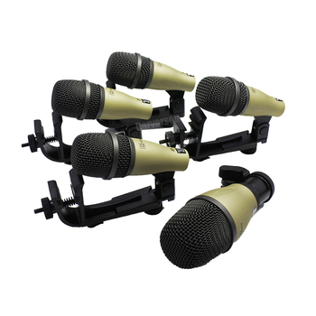 Q71 Q72 PGA56 PGA52 style DK705 kick snare tom bass drum kit microphone instrument dynamic  mic