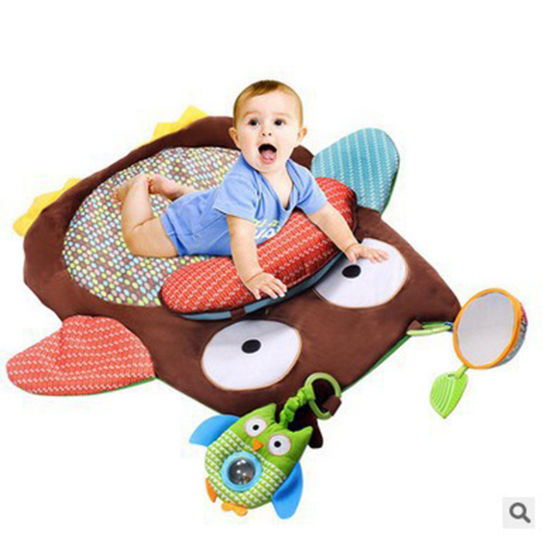 Cartoon Animals Children Play Mats Infant Game Blanket Baby Crawler Mat Family Essential Baby Game Pad Activity Mat For Kinds