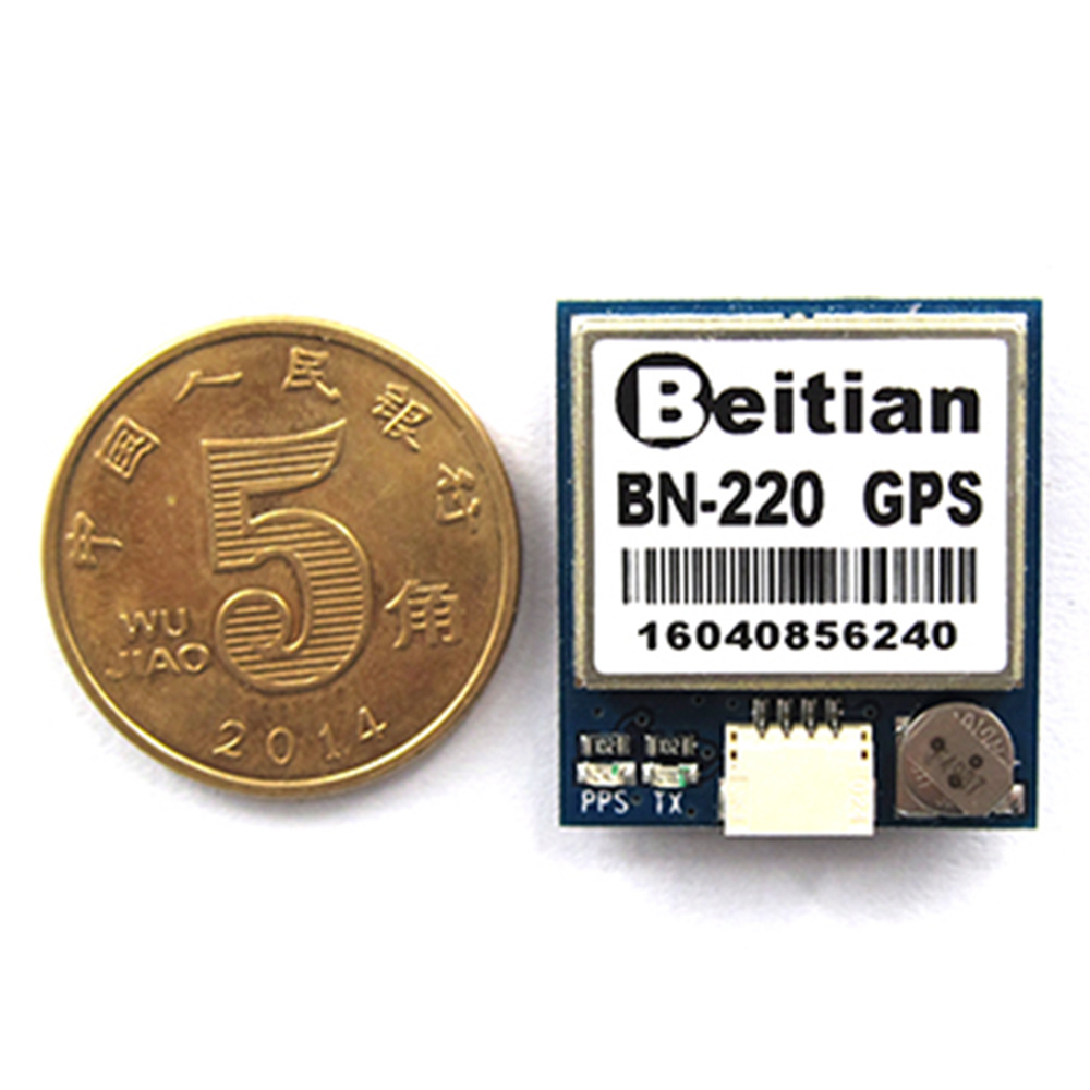 Beitian Dual BN-220 Mini GPS GLONASS Built In FLASH Antenna Module RC Drone Airplane