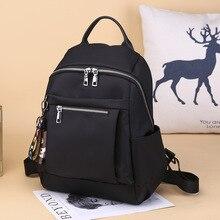 2020 new double shoulder bag women's Oxford cloth versatile leisure trend backpack Fashion College style schoolbag bookbag  bag