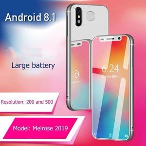 Image 5 - סופר מיני מלרוז 2019 4G Lte הקטן Smartphone 3.4 MTK6739 Quad Core אנדרואיד 8.1 טביעות אצבע נייד