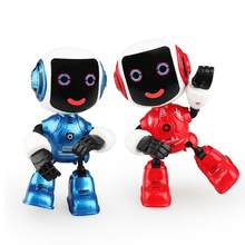 Cartoon alloy electric benefit intelligent robot joint energy activity early science teaching children model toy for Children Bi(China)