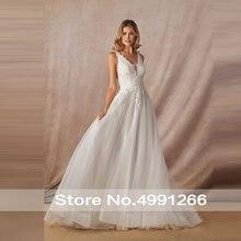 Baziiingaaa 2020 Новое роскошное свадебное платье с кружевом