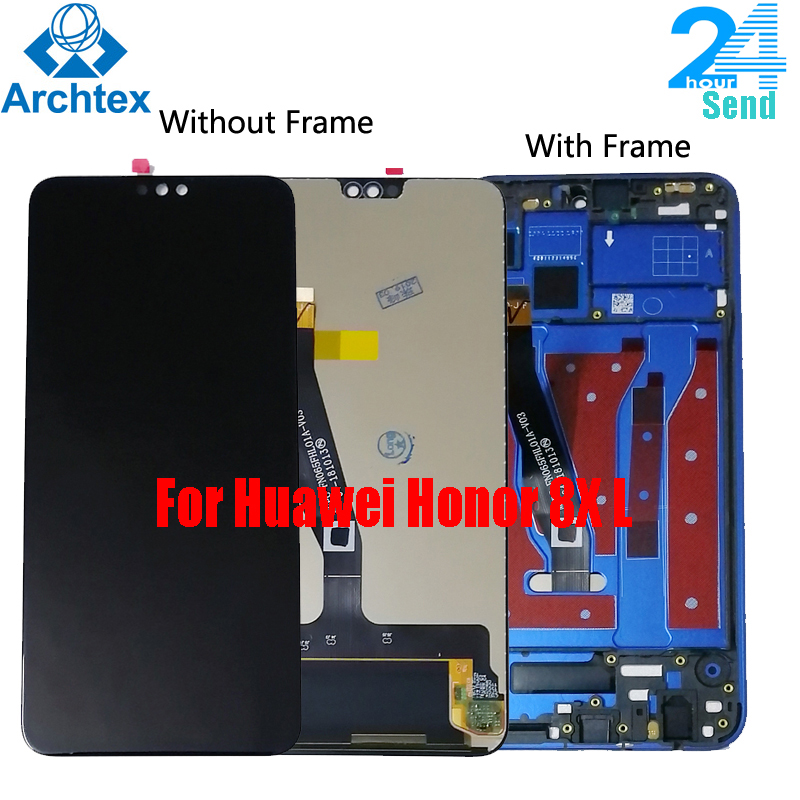 For Huawei <font><b>Honor</b></font> <font><b>8X</b></font> <font><b>LCD</b></font> Display+Touch Screen Digitizer Assembly Replacement+ Frame 6.5 inch For Huawei <font><b>Honor</b></font> 8 X JSN-L21 L42 image