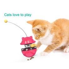 New Arrival Durable Pet Cat Toys Mimi Favorite fur Mouse Tumbler Kitten Cat Toys Plastic Play Balls for Catch Cats Supplies