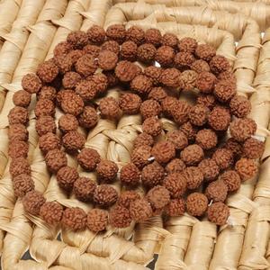 Image 5 - جديد وصول الطبيعية Rudraksha اليابان مالا 108 حبة الهندوسية الصلاة التأمل البوذية لممارسة التأمل سوار مجوهرات هدية