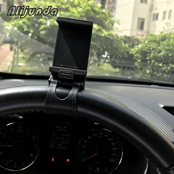 Car Steering Wheel Mount Holder Car Mount Bracket Rubber Band For Porsche Cayenne Macan Macan S Panamera Cayman Carrera Porsche9 image