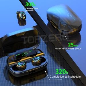 Image 3 - S11 Bluetooth אוזניות מגע טביעת אצבע TWS אלחוטי אוזניות 8D סטריאו הפחתת רעש דיבורית אוזניות אוזניות עבור טלפון