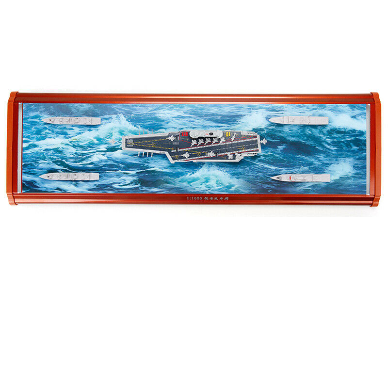 Chinese LiaoNing Carrier Battle Groep Schip Boot 1/1600 Legering Simulatie Model - 4