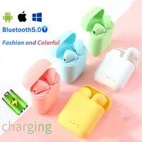 Mini-2 TWS auricolari Wireless Bluetooth 7.0 cuffie sportive cuffie da gioco per Iphone Samsung Huawei Oppo cuffie musicali Xiaomi